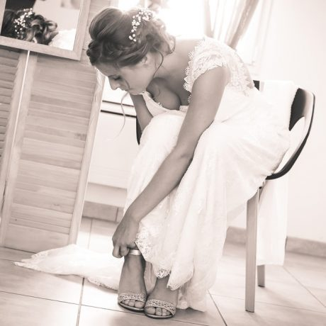 Préparatifs mariée mariage